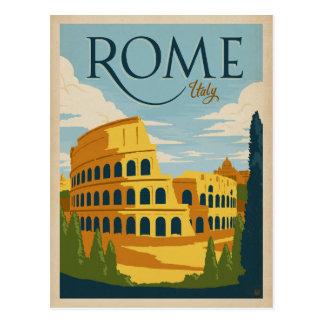 ローマ、イタリアColosseum ポストカード