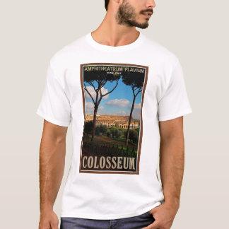ローマ-パラタインの丘からのColosseum Tシャツ