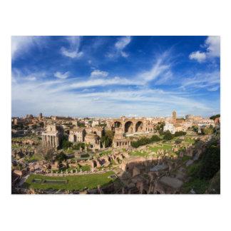 ローマ-フォーラムのRomanumの郵便はがきの眺め ポストカード