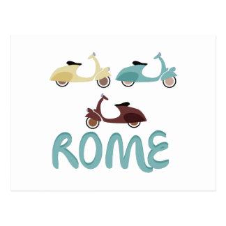 ローマ ポストカード