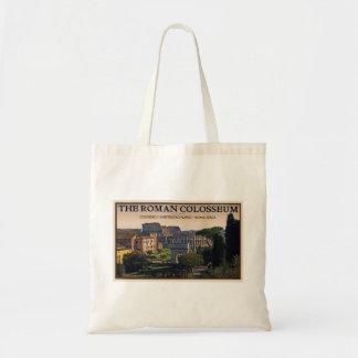 ローマ-ローマのフォーラムおよびColosseum トートバッグ