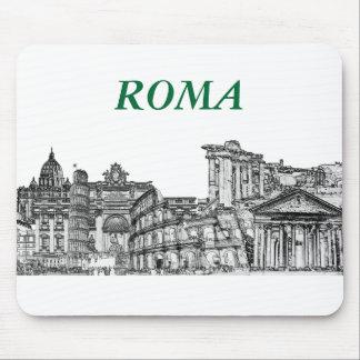 ローマ、ローマ…旅行記念品のギフト マウスパッド