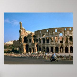ローマ、Colosseum ポスター