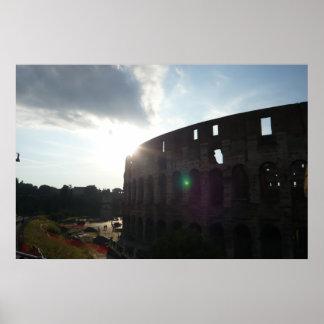 ローマColosseumポスタープリント ポスター