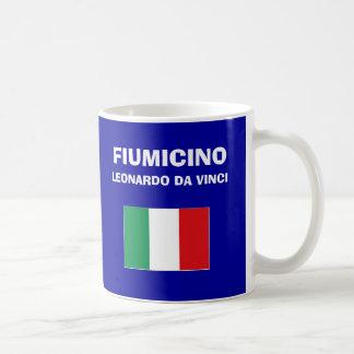 ローマFumicino FCO空港コードマグ コーヒーマグカップ