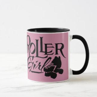ローラーの女の子、ローラーダービー マグカップ