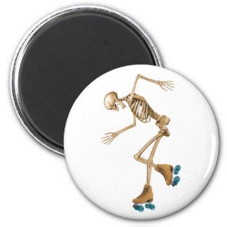 ローラースケートの骨組 マグネット