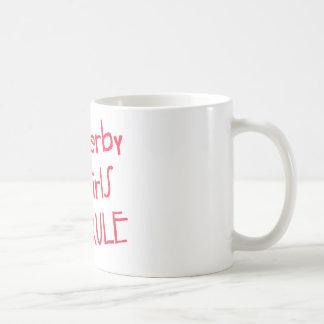 ローラーダービー-ダービーの女の子の規則 コーヒーマグカップ