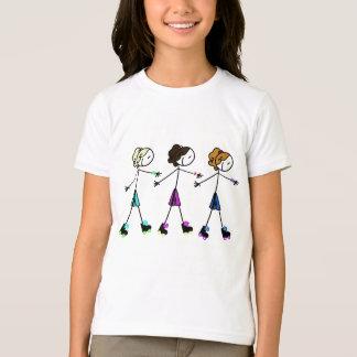 ローラーGals Tシャツ