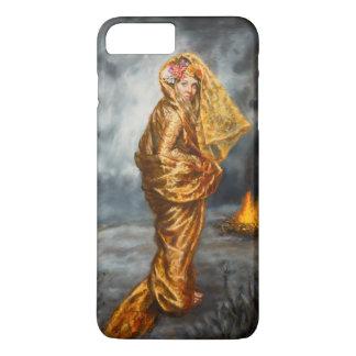 ローラAtkinsの芸術 iPhone 8 Plus/7 Plusケース