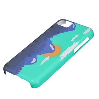 ローリング・ヒルズが付いている森林 iPhone5Cケース