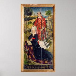 ロールde Jaucourtの描写 ポスター