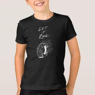 ロールTシャツ Tシャツ