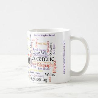 ローレンスの歩行の単語の雲2016年11月 コーヒーマグカップ