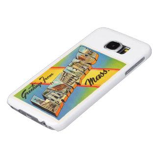 ローレンスマサチューセッツMAのヴィンテージ旅行記念品 SAMSUNG GALAXY S6 ケース