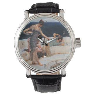 ローレンス・アルマ=タデマ著銀製の好み 腕時計