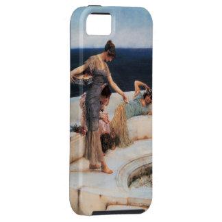 ローレンス・アルマ=タデマ著銀製の好み iPhone SE/5/5s ケース