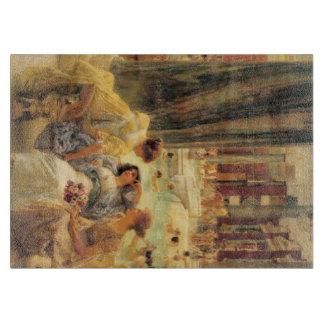 ローレンス・アルマ=タデマ著Caracallaの浴室 カッティングボード