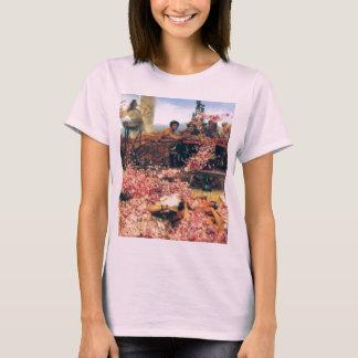 ローレンス・アルマ=タデマ著Heliogabalusのバラ Tシャツ