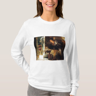 ローレンス・アルマ=タデマ1883の歓迎された足音 Tシャツ