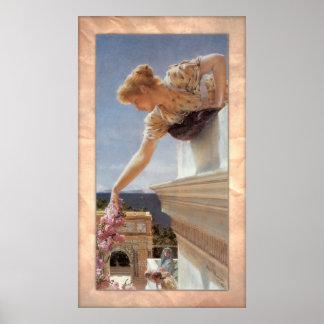 ローレンス・アルマ=タデマ-神の速度! ポスター