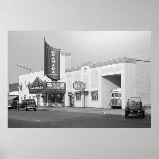ローレンス、カンザス1938年 ポスター