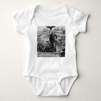 ワイオミングのセオドア・ルーズベルト大統領 ベビーボディスーツ