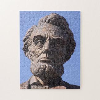 ワイオミングのパズルのAbeリンカーン記念館記念碑 ジグソーパズル