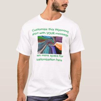 ワイオミングのワイシャツ-選挙または他のカスタム Tシャツ