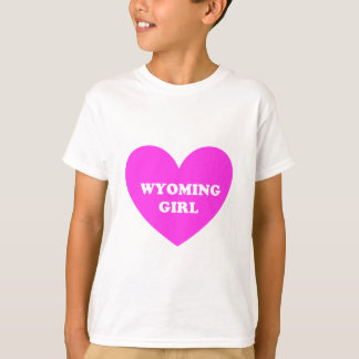 ワイオミングの女の子 Tシャツ