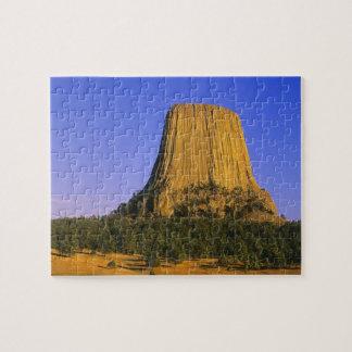 ワイオミングの悪魔タワーの国有記念物 ジグソーパズル