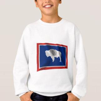 ワイオミングの振る旗 スウェットシャツ