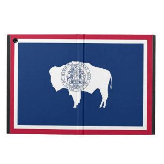 ワイオミングの旗との愛国心が強いipadの場合 iPad airケース