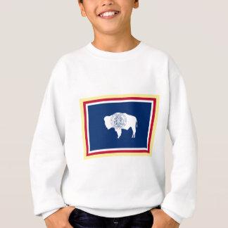 ワイオミングの旗 スウェットシャツ