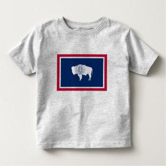 ワイオミングの旗 トドラーTシャツ