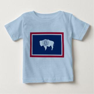 ワイオミングの旗 ベビーTシャツ
