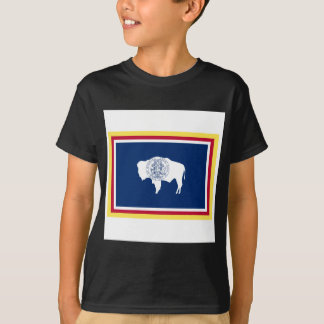 ワイオミングの旗 Tシャツ