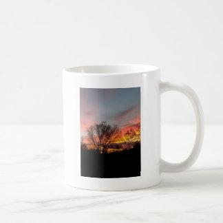 ワイオミングの日の出 コーヒーマグカップ