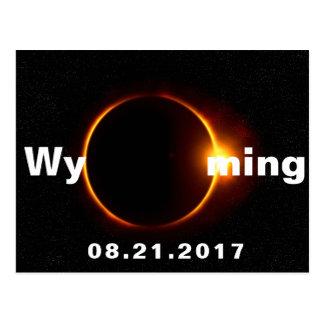 ワイオミングの日食 ポストカード