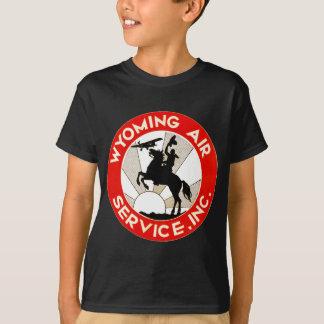 ワイオミングの航空業務 Tシャツ