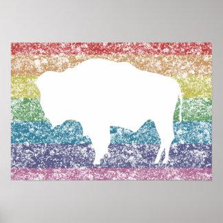 ワイオミングの虹 ポスター