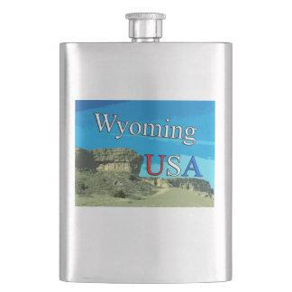 ワイオミング米国のフラスコ フラスク