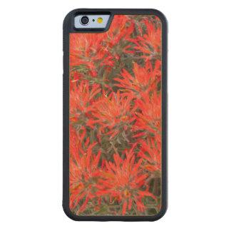 ワイオミング、リンカーン郡の砂漠ペイントブラシ CarvedメープルiPhone 6バンパーケース