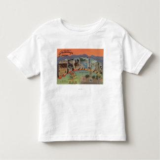 ワイオミング(州都か花) トドラーTシャツ