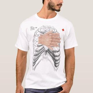 ワイシャツいかににCPR Tシャツ