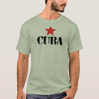 ワイシャツが付いているキューバのためのあなたの愛を示して下さい Tシャツ