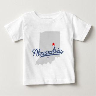 ワイシャツのアレキサンドリアインディアナ ベビーTシャツ