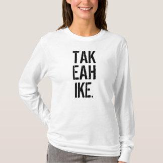 ワイシャツのバックパックの名前をハイキングするハイキングを取って下さい Tシャツ