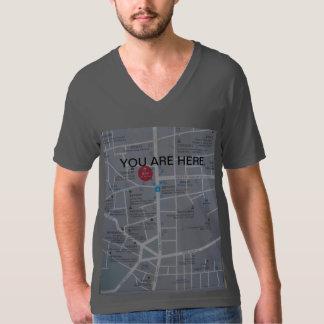 ワイシャツの地図 Tシャツ