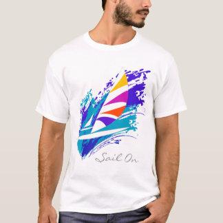 ワイシャツの帆 Tシャツ